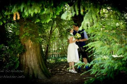 Hochzeit-Fotografie in München – Sommertag