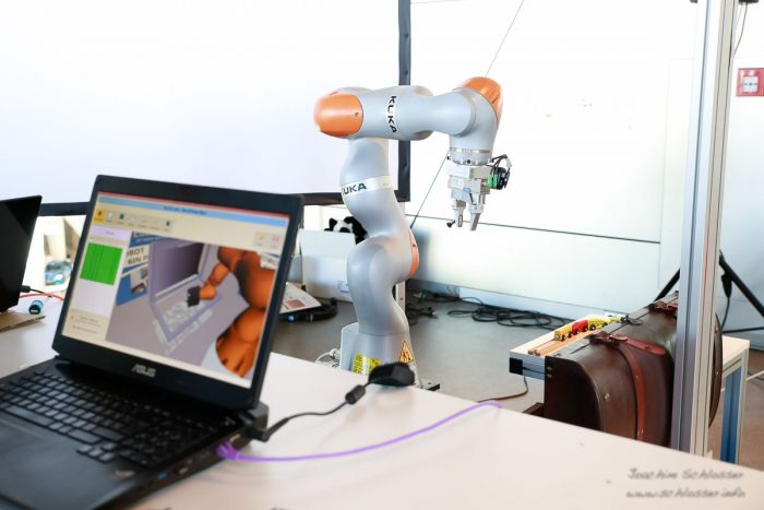 Euclid Labs KUKA Bin Picking Robot