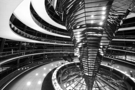 Blick in die Bundestagskuppel
