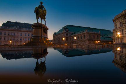 Albertinadenkmal in Wien