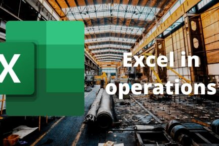 Excel in production
