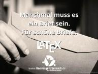 Brief in LaTeX