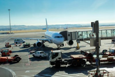 Flugzeug Airport