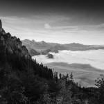 Tegelberg Hang-Aussicht nach Süden