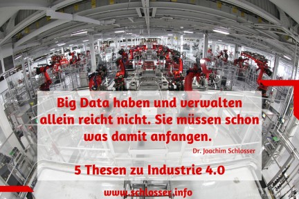 5 Thesen zu Industrie 4.0