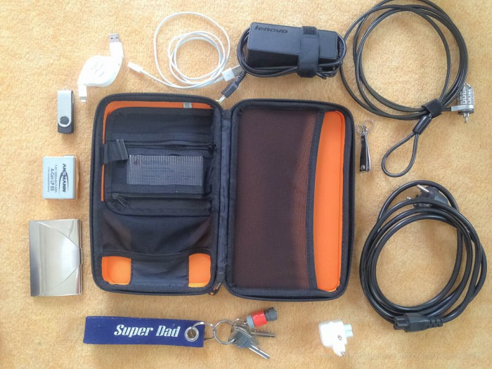 Kabel Elektronik packen