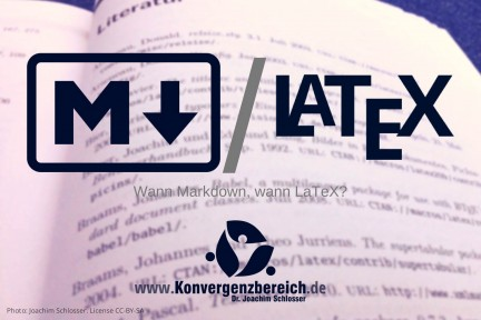 Markdown oder LaTeX