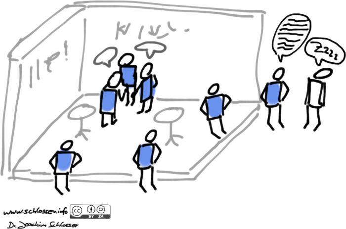 Sketchnote Messe-Fehler