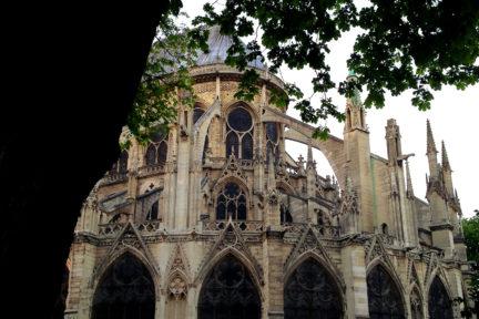 Notre Dame Paris Struktur