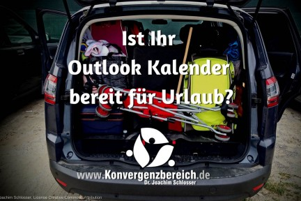 Outlook Kalender Urlaub
