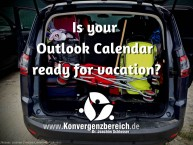 Outlook Calendar Vacation