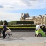 Paris Louvre Parc