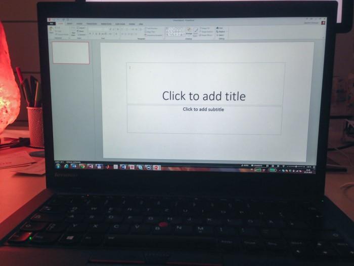 Ein Konzept auf PowerPoint-Folien?
