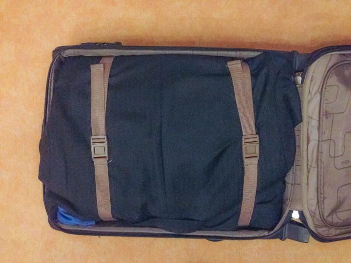 Trolley packen – Anzug