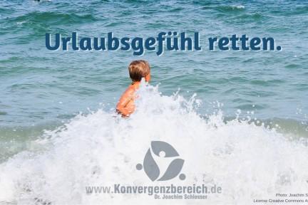 Urlaubsgefühl retten