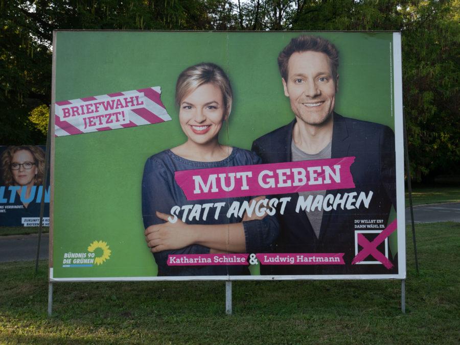 Wahlplakat 2018 Grüne Schulze Hartmann