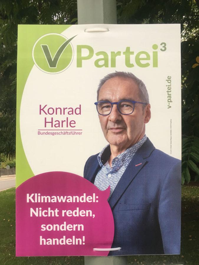 Wahlplakat 2018 VPartei Harle