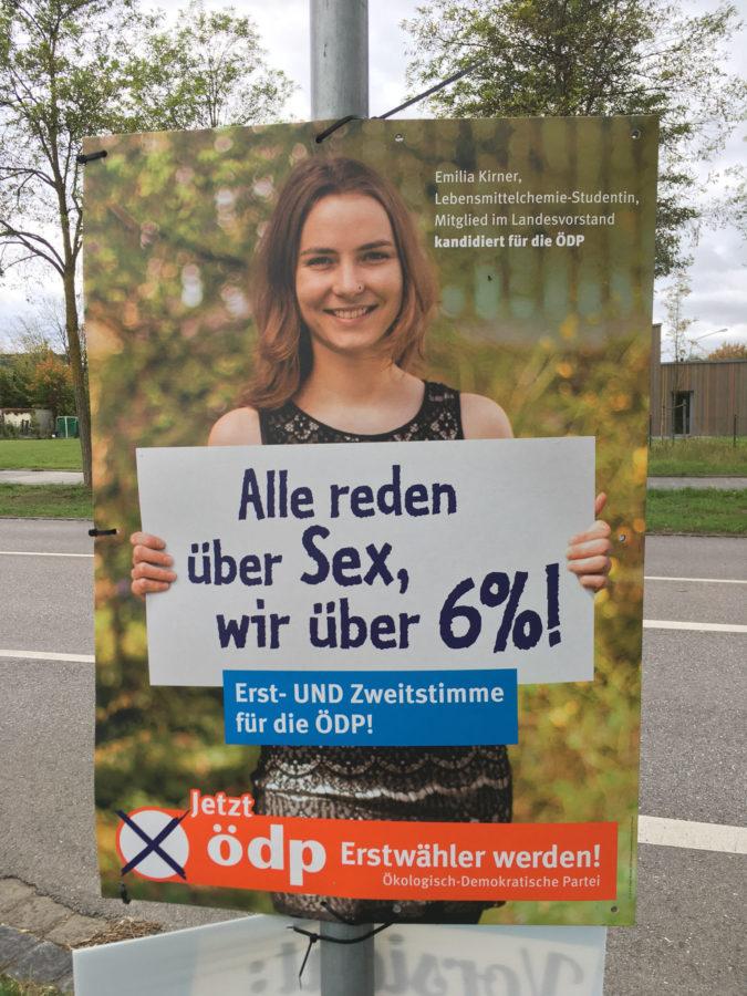 Wahlplakat 2018 ÖDP Kirner