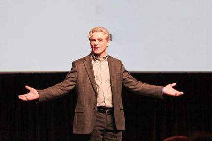 Präsentation: Vortragender und Zuhörer stehen auf derselben Seite