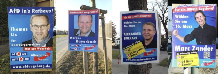 Wahlplakate AfD