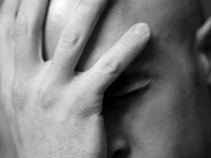 Facepalm_bw - Brandon Grasley on Flickr
