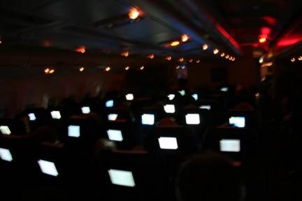 Flugzeugbildschirme