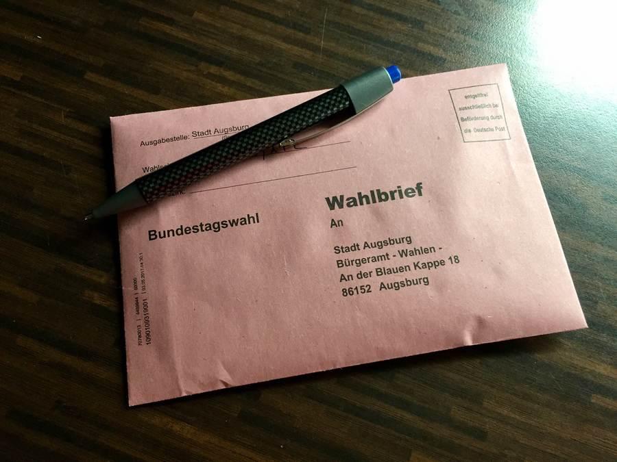 Symbolfoto Bundestagswahl 2015, Briefwahl