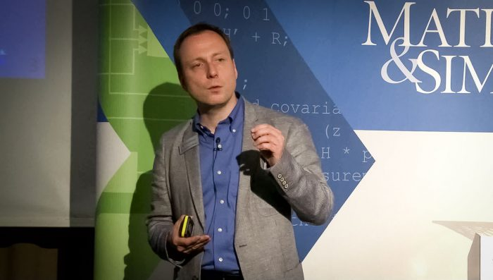 Joachim Schlosser at MATLAB Expo 2016