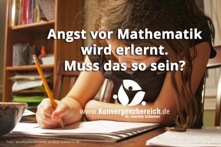 Angst vor Mathematik in der Schule