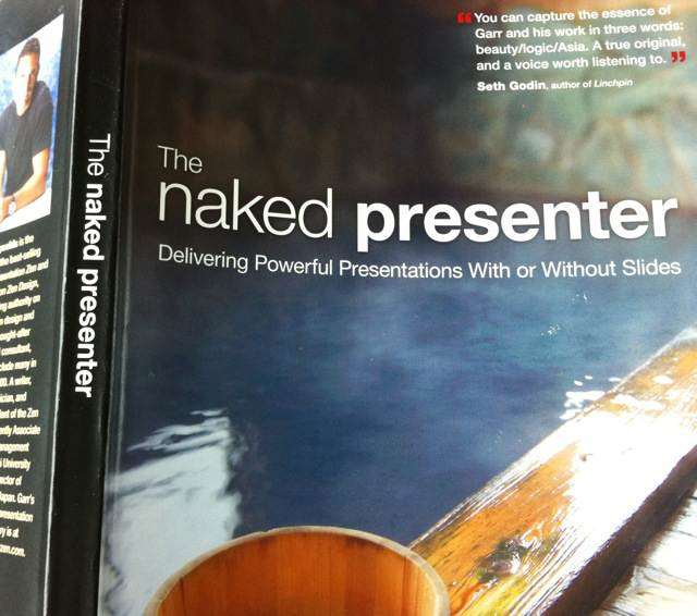 Cover The Naked Presenter, Garr Reynolds