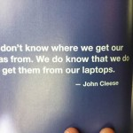 The Naked Presenter - Quote from John Cleese