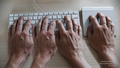 So schnell schreiben wie vier Hände