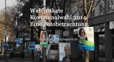 Viele Wahlplakate